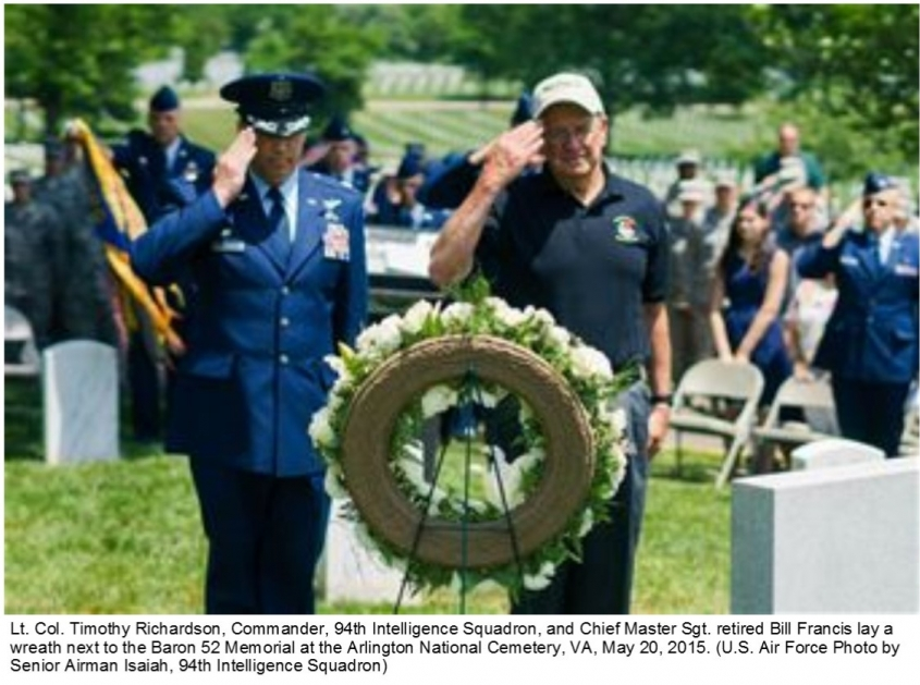 Wreath laying ceremony #1